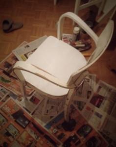Stuhl ungestrichen