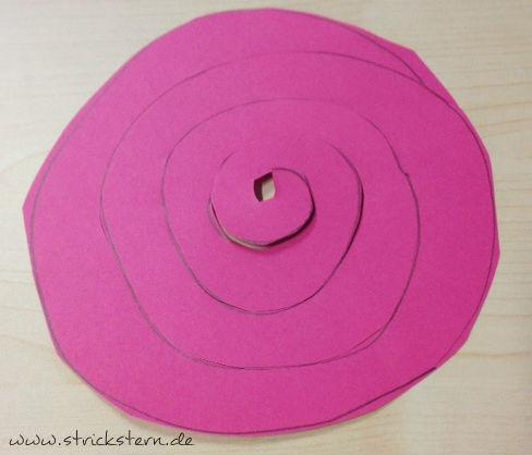 Spirale ausschneiden