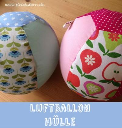 Luftballonhülle nähen