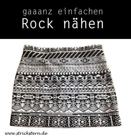 Rock nähen