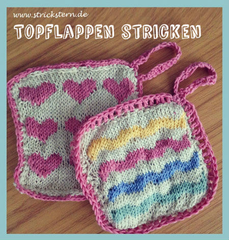 Topflappen stricken