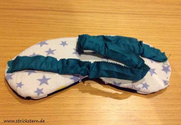 Band Schlafmaske annähen