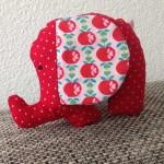 Ein Kuscheltier nähen: Dicker Elefant
