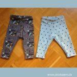 Babyhose nähen – verschiedene Leggings