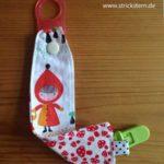 Babysachen nähen: Wieder mal Schnullerbänder
