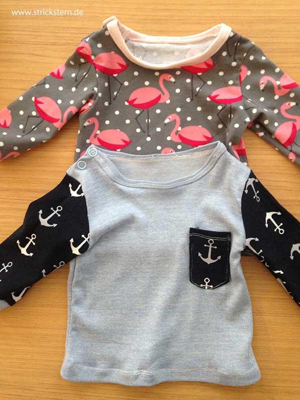Knopfleiste Nähen babyshirt mit knopfleiste nähen basic schnitt strickstern
