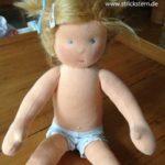 Eine Puppe nähen – das Geschenk zu ersten Geburtstag