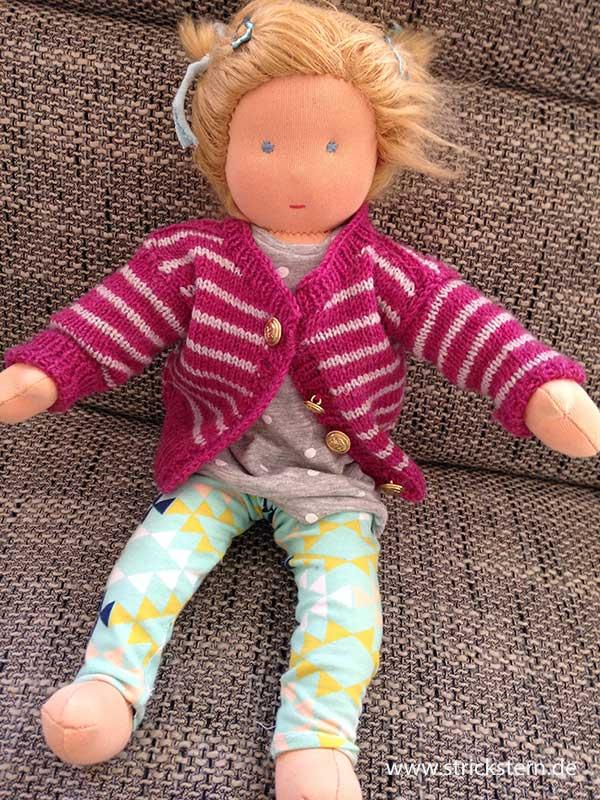 Waldorf Puppe nähen