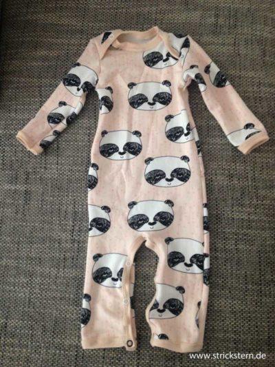 Baby Schlafanzug nähen