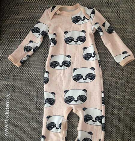 Baby Schlafanzug nähen - sehr vielfältiges Schnittmuster - Strickstern