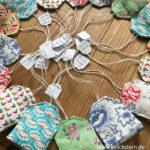 Teebeutel nähen – kleine Lavendelsäckchen